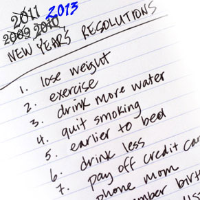 Why It's Never Been About New Year Resolutions