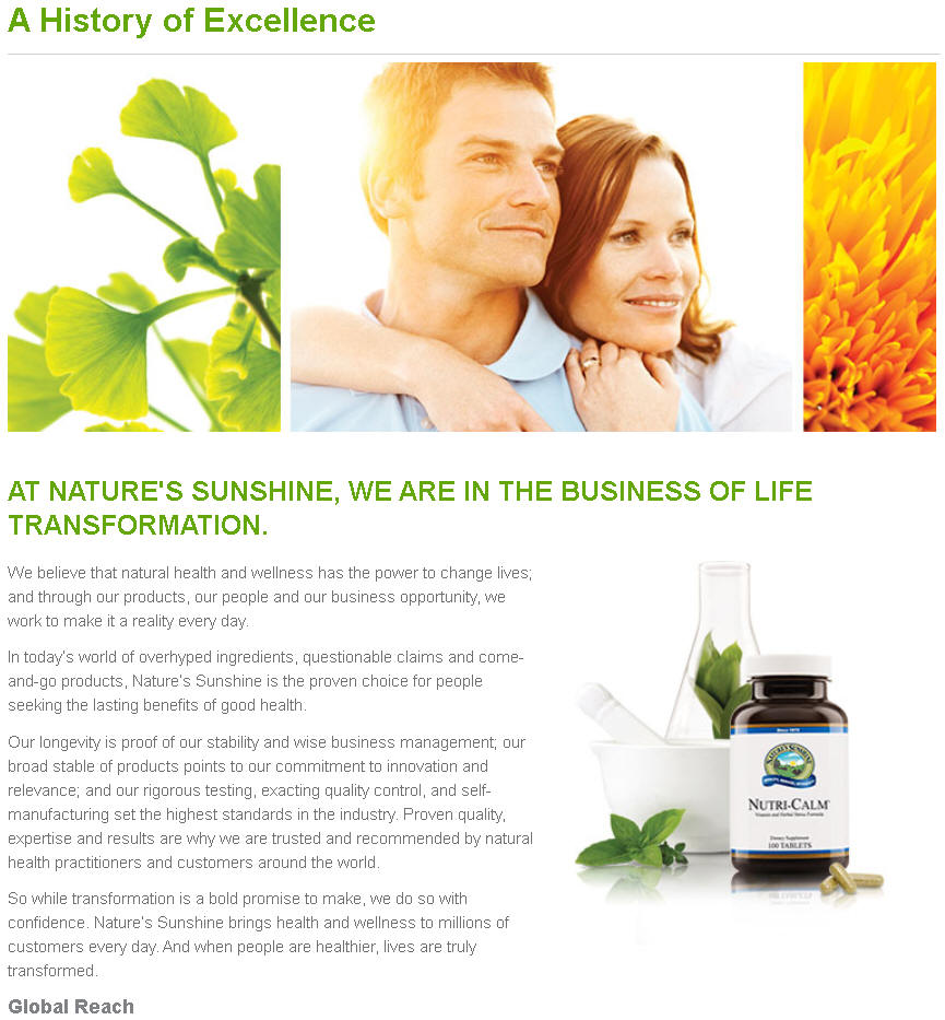 Nature's Sunshine Products Canada