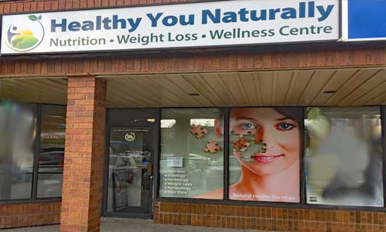Contact Healthy You Naturally Clinics Derry