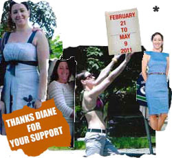 Julie Before & After Ideal Protein Photo