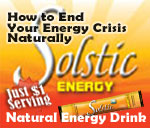 Solstic Natural Energy Drink