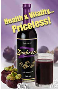 Zambroza - Thai-Go juice with Mangosteen - Powerful Antioxidant