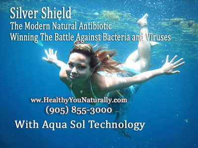 Natural Antibiotic Silver Shield Aqua Sol