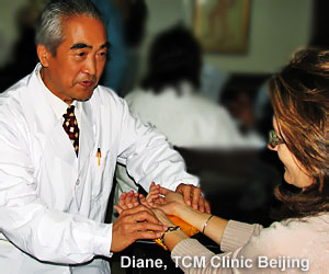 Traditional Chinese Medicine Doctor's Clinic With Diane